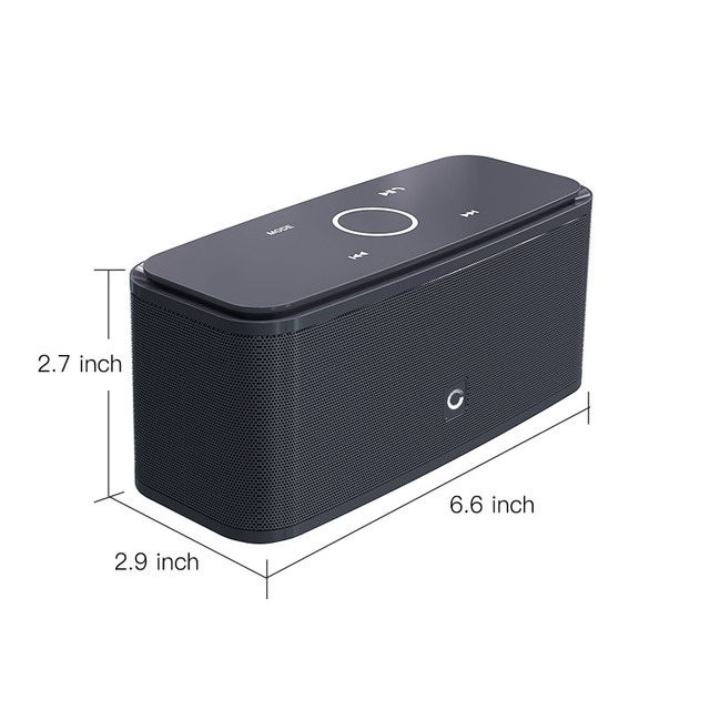 DOSS SoundBox Touch Control Bluetooth Speaker 2 6W Portable Wireless Speakers Stereo Sound Box with
