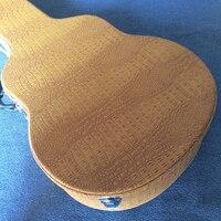 Новый стиль, высококачественный полый футляр для электрогитары, желтый кожаный жесткий чехол с красной подкладкой, бесплатная доставка