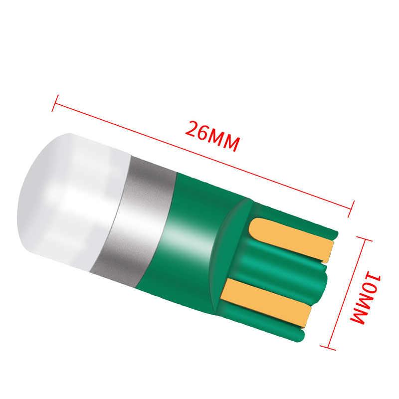 1 قطع T10 W5W 192 168 جديد السوبر مشرق 1000Lm 3030 LED السيارات وقوف السيارات الداخلية الترخيص لوحة مصباح Sidemarker لمبات سيارة DRL أضواء