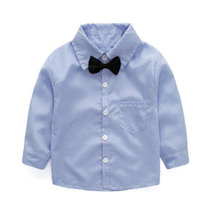 Image 5 - 2020 Boys Spring and Autumn Gentleman Clothing Sets Jacket + Shirt + Pants 3 pcs Suit for Kids Childrens Fashion Party Clothes