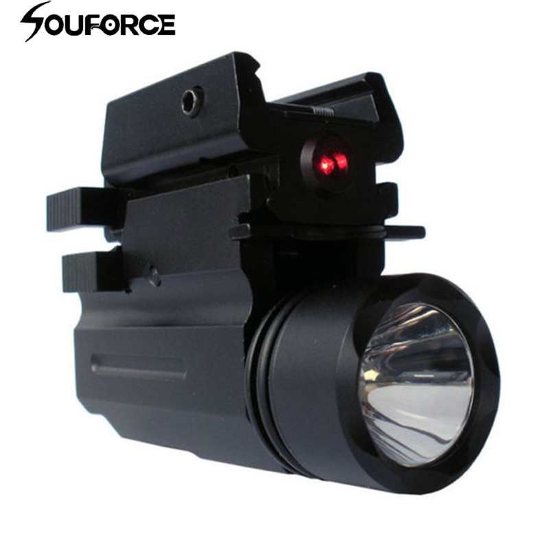 Red Dot Laser Sight and Rifle Lights Flashlight fit Guns Glock 17,19, 22 Series for Rifle Airsoft Hunting