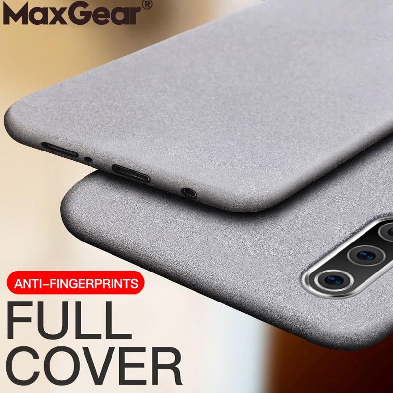 Matte-Cases Anti-Fingerprint-Covers Soft-Silicone Samsung Galaxy A40 M40 Ultra-Thin M20