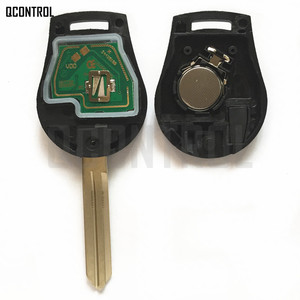 Image 3 - QCONTROL Car Remote Key Fit for NISSAN CWTWB1U761 Juke March Qashqai Sunny Sylphy Tiida X Trail 433MHz