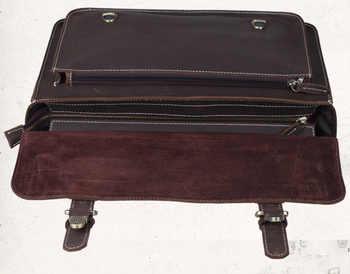 "Men\'s Briefcase Genuine Leather Male Shoulder Bags Portfolio 15\"" Laptop Messenger Bags Crossbody Bolso Travel Business Handbag"