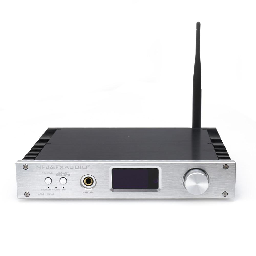 FX-Audio D2160 HIFI Bluetooth 4.2 150W2 Full Digital Power Amplifier Headphone Amplifier Hifi Music USB AMP 2018 lastest fx audio m 160e integrated hifi high power digital amplifier u disk sd card pc usb bluetooth 4 0