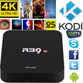 Docooler RK3229 R39 Android 5.1 Caixa de TV Quad Core 1 GB de RAM 8 GB ROM KODI16.1 XBMC 4 K WiFi H.265 DLNA AirPlay Miracast Mídia jogador