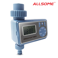 ALLSOME Automatic Electronic Smart Digital Water Timer Garden Tool Single Outlet Hose Faucet Timer Irrigation Controller