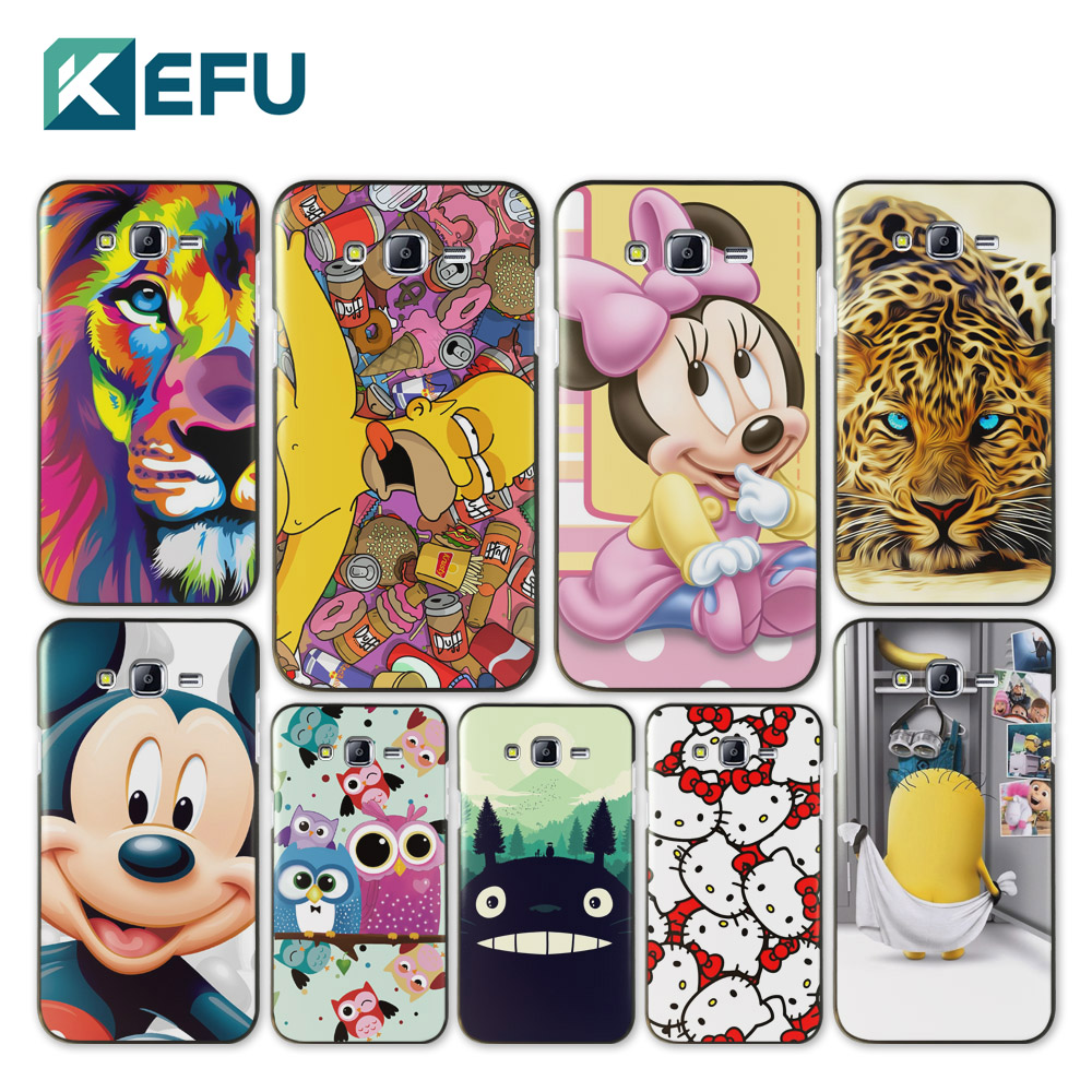 For coque Samsung Galaxy J7 original Cartoon hard PC cover for fundas Samsung Galaxy J7 2016 new arrivals for capa Samsung J7