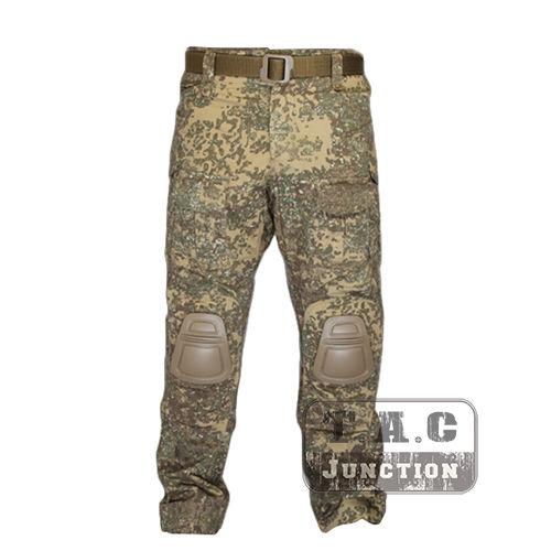 Tactical Emerson BDU G3 Combat Pants Emersongear CP Style Battlefield Trousers Assault Uniform w/ Knee Pads Badland  BL