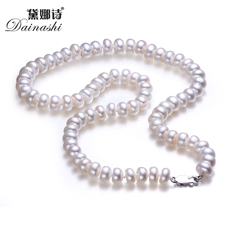 Low Price Pearl Necklace AAAA Pearl Jewelry  Natural Freshwater Pearl Choker