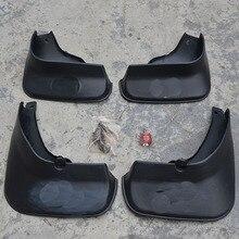 цена на Free Shipping High Quality ABS Plastics Automobile Fender Mudguards Mud Flaps For 2005-2009 Toyota REIZ