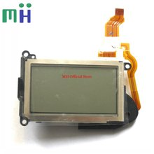 Para nikon d7100 d7200 parte superior lcd capa de tela da câmera reparação parte unidade reposição