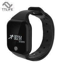 TTLIFE X5 Bluetooth Smart Band спортивный трекер Браслет сердечного ритма Мониторы IP67 Водонепроницаемый smartband для Android IOS телефона
