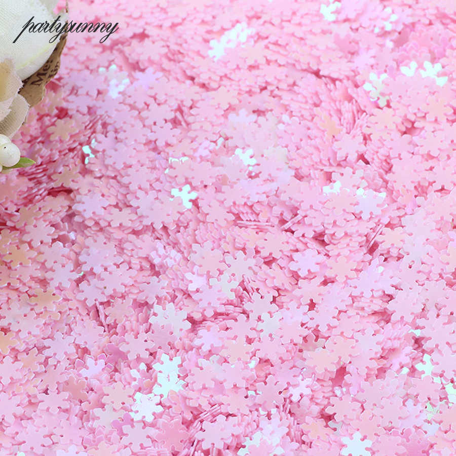 fb6f5524c0 20g Pink Diy Mixed Sequins Heart Star Folwers Craft Materials Paillett  Sequin for Handmade Phone Nail Art Shoe Decoration