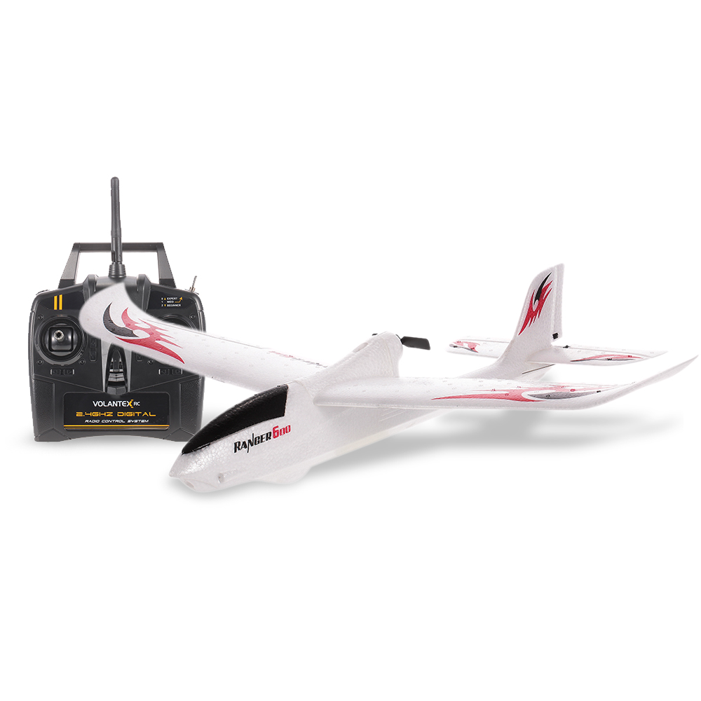 VolantexRC 761-2 Ranger 600 2.4GHz 3CH 6-axis Gyro Remote Airplane 600mm Wingspan RC Aircraft RTF Drone FixedWing Toy macfree b 17 b17 rc airplane brushed 2 4ghz 6ch built in 6 axis gyro fixed wing 740mm wingspan airplane rtf