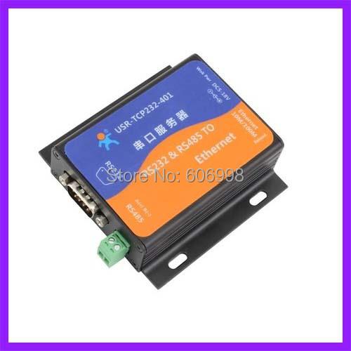 2 unids/lote Servidor de Puerto Serie RS232 485 A Ethernet para Red Módulo de Puerto Serie A La Red