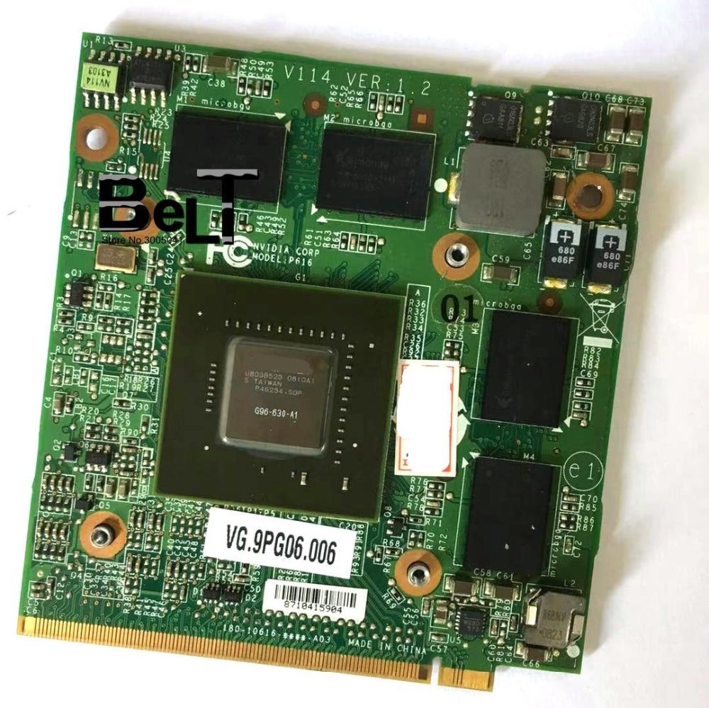 GeForce 9600M GT GDDR3 512MB MXM G96 630 A1 for Acer Aspire 6930 5530G 7730G 5930G