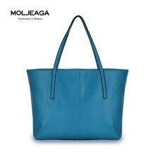 MOLJEAGA Marke 2017 Frauen Handtaschen Pu Leder Composite-taschen Große Umhängetasche Handtaschen Frauen Berühmte Marken Set Tote + Clutch tasche