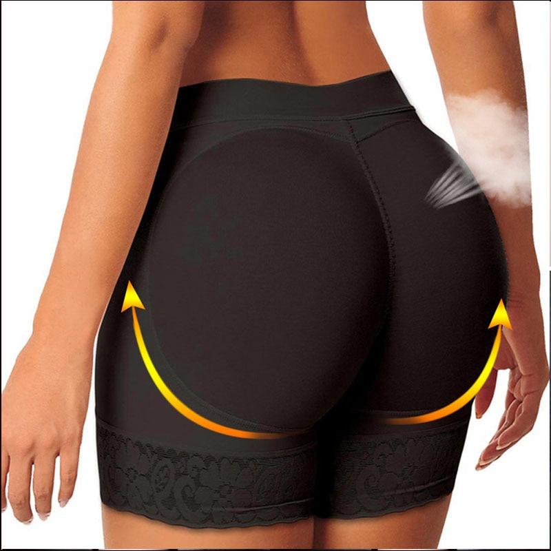 Control-slip Hüfte Pads Taille Trainer Butt Heber Bauch-steuer Hosen Abnehmen Unterwäsche Abnehmen Gestaltung Höschen Frauen Shaper Slip Former