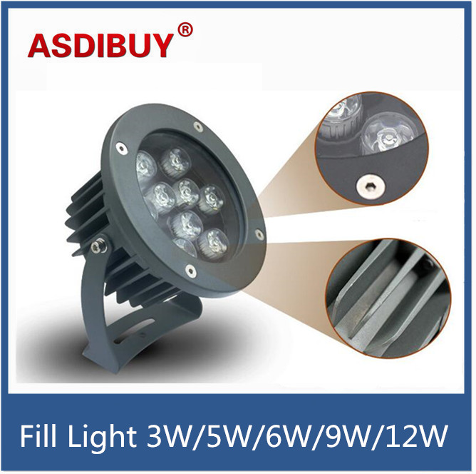 Waterproof outdoor 3W/5W/6W/9W/12W IR Illuminator Array Leds Night-vision Fill Light road security lights