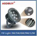 Waterproof outdoor 3W/5W/6W/9W/12W IR Illuminator Array Leds Night-vision Fill Light road security lights