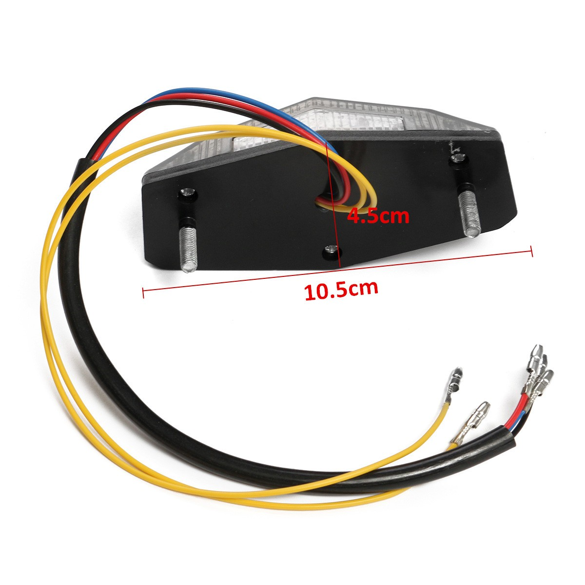 Motorcycle Motorbike LED Stop Tail Number Licence Plate Lamp Light For Honda