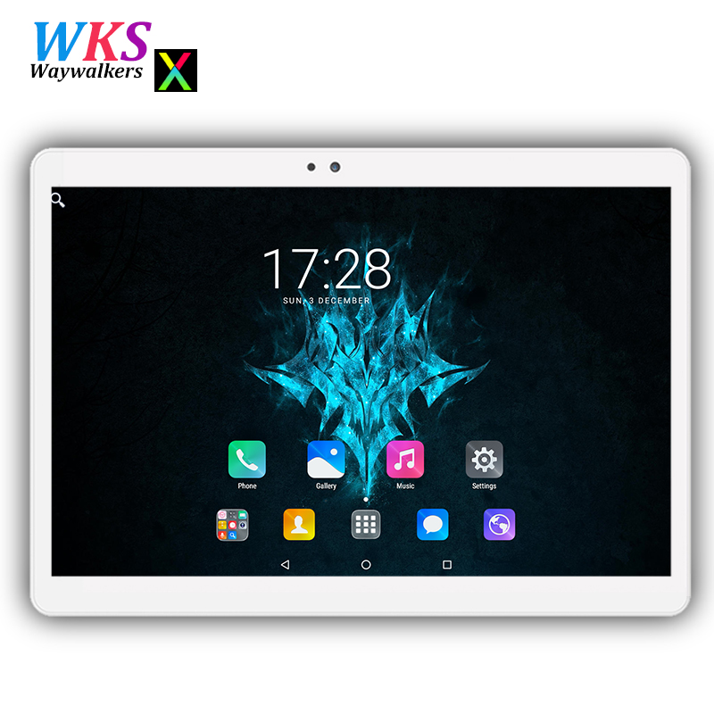 Newest waywalkers 10 inch tablet pc Android 7.0 octa core RAM 4GB ROM 32/64GB wifi Bluetooth 2.5D screen 1280*1200 IPS tablets waywalkers 10 inch tablet pc android 7 0 octa core ram 4gb rom 32 64gb 1920 1200 ips dual sim wifi bluetooth gps tablets phone