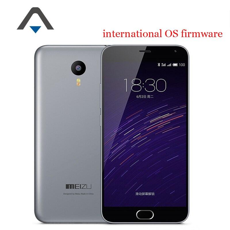 Original Meizu M2 Note 2 FDD LTE 4G Mobile Phone MTK6753 Octa Core 5 5 1920X1080
