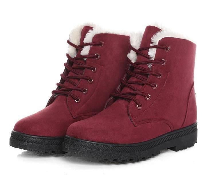 Women Shoes lace-up Winter Shoes 31