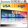 Leeman Sinosky один цвет перемещение текста P16 из светодиодов работает дисплей сообщение знак / из светодиодов экран / из светодиодов панели сообщение вывеска rgb p10