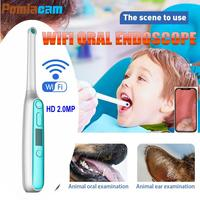 Factory Direct Wireless WiFi Oral Dental Endoscope Camera 1080P HD Intraoral Video Inspection Camera Dentist Device Tools IM401
