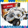 371 шт. Бела Ninja 10523 Titanium Ниндзя Стакан Строительные Блоки Кирпичи Мальчиков Детей Игрушки Совместимость С Lego