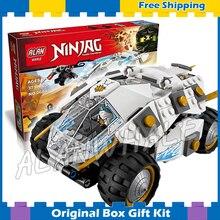 371pcs Bela 10523 Ninja Titanium Ninja Tumbler Building Blocks Bricks Boys Kids Toys Compatible With Lego