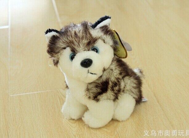 10 pieces a lot cute husky dog toy small lovely husky dog stuff doll about 20cm