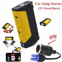 Neueste 12 V USB Car Charger Wiederaufladbare Tragbare Multifunktions Auto Stromversorgung Starthilfe FÜHRTE Licht Universal Auto batterie