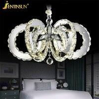 Modern Chandelier Hot Sale Diamond Ring Led Crystal Chandelier Light Pendant Lamp Circles 100 K9 Crystal