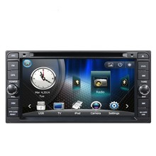 Car DVD GPS Navigation for Toyota Previa FJ Crusier SW4 Matrix Zelas Alphard Vellfire Hilux and Scion tC