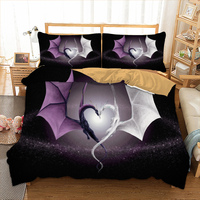 Dragon Bedding Set Twin Full Queen King Single Super King Size Cool Bed Linen Set For Boys Bedclothes 3D Bed Cover Set 3pcs