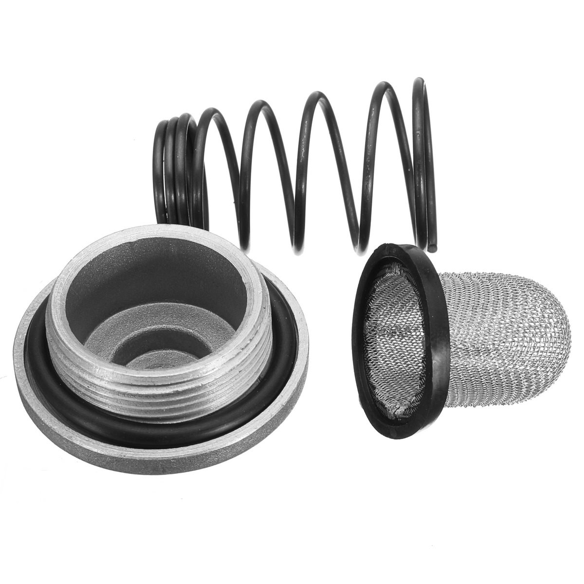 Aluminum & Rubber Motorcycle Scooter Oil Drain Plug Set For 50-150cc GY6 Baotian Benzhou Znen Taotao