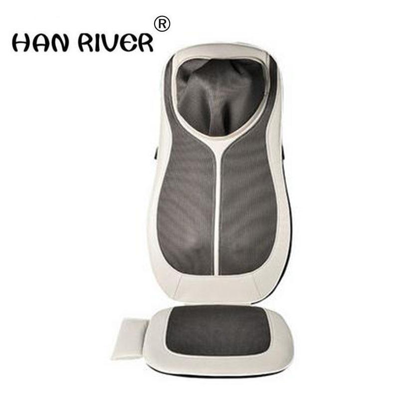HANRIVER Comfier massage cushion lumbar cervical massage whole body multi-functional chair cushion pillows amphibious car home hanriver massage cushion home office