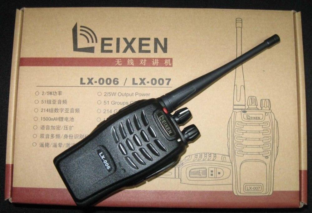 LX 007 two way radios walkie talkie cheap radio scrambler