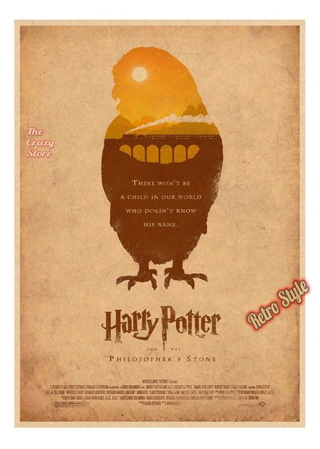 Harry Potter New Style FanArt Posters Vintage Retro Matte Kraft Paper Antique