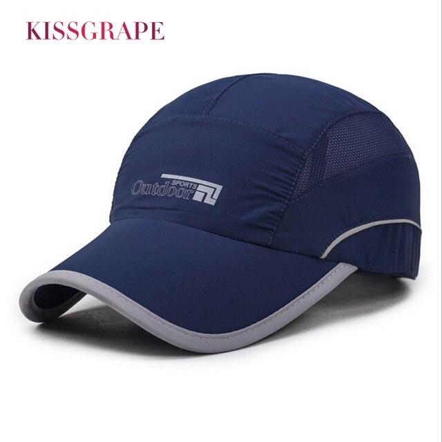 Brand 2018 Summer Men Baseball Cap Men's Mesh Baseball Hat Quick Dry Men Fishing Caps Golf Hats Bone Snapback Cap Polo Drake Hat