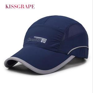 KISSGRAPE Summer Baseball Cap Men Bone Snapback Hat 516129a4ff1d