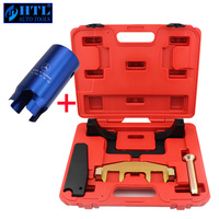 Engine Camshaft Timing Tool With Ignition Lock Remover For Mercedes Benz M271 C200 E260 C180 1.8L Chain Driven Camshaft