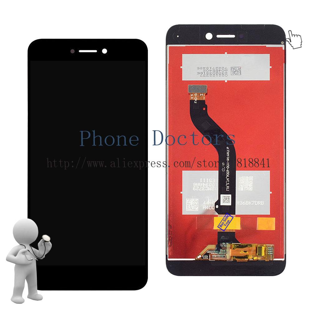imágenes para 5.2 ''full lcd display + touch screen reemplazo asamblea del digitizador para huawei p9 lite 2017; negro; nuevo; 100% Probado