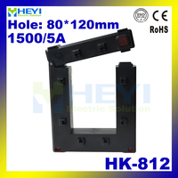 Brand new ring type clamp on current transformer HK 812 1500/5A Class 0.5 din rail current transformers factory