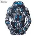 Chaquetas de esquí Marsnow para hombre, chaquetas térmicas de invierno, impermeables, impermeables, de Snowboard, de escalada, para hombre, para esquiar, ropa deportiva