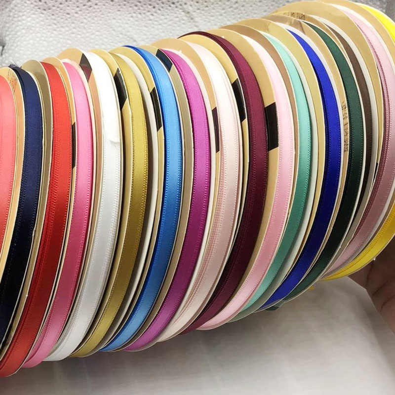 8 yards 6mm Double Face Satin Ribbon Tape High Quality 100% Polyester Double Sided Ribbon