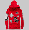 2017 Brand High Quality Spring/Autumn Men's Fashion Popular Printing Cotton Hooded Sweatshirts Lovers Size S~ 4 XL